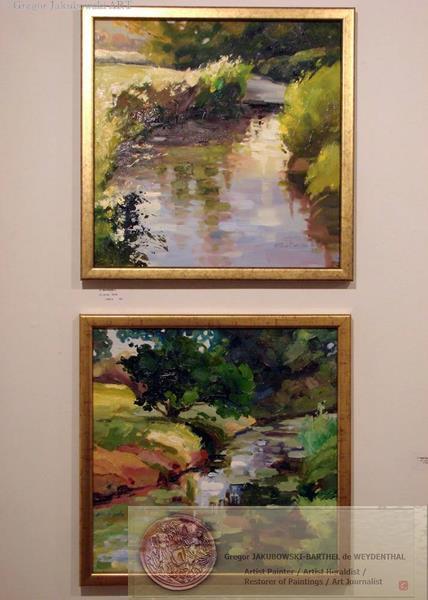YIN &YANG, Ewa MASLOWSKA & Gregor JAKUBOWSKI, oil paintings September 29 to October 10, 2009
