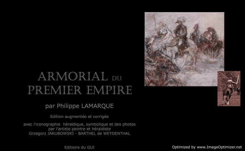 ARMORIAL du PREMIER EMPIRE