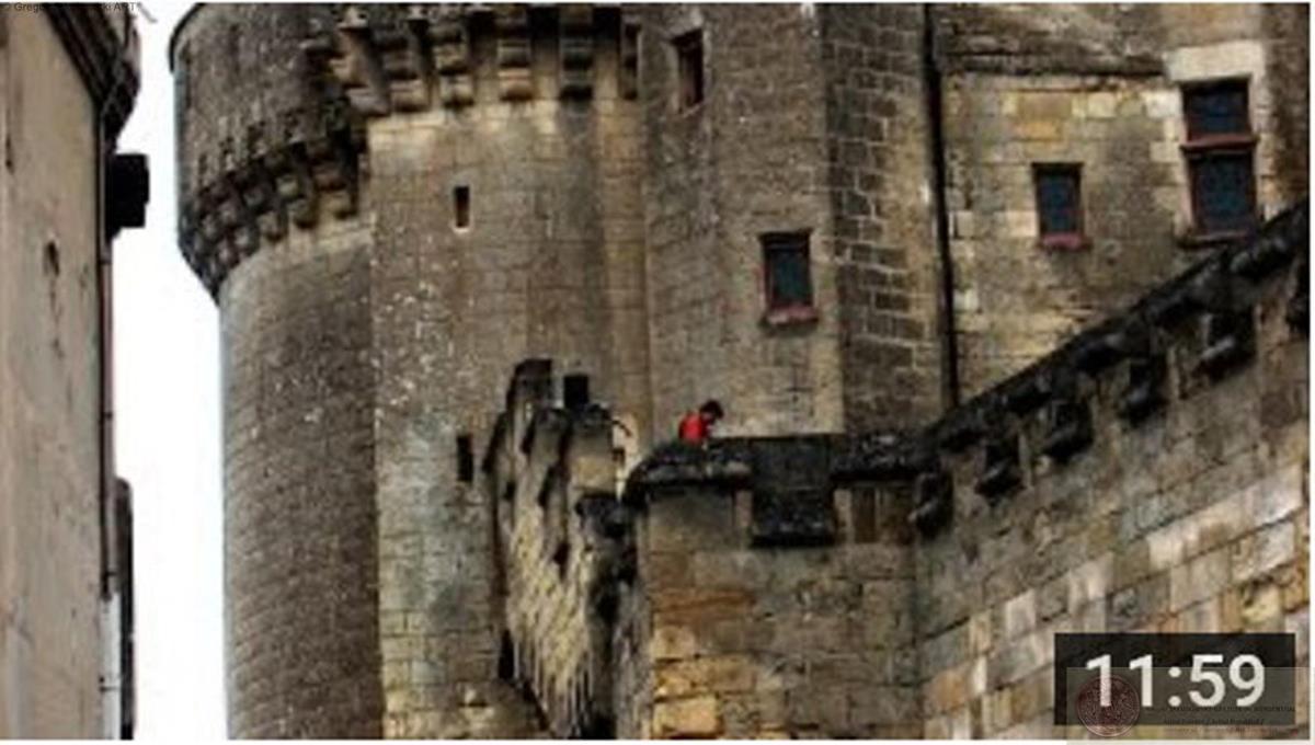 PAINTINGS Gregor Jakubowski - Neuf Preux - Chateau de Langeais