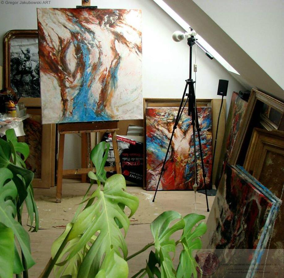 Gregor Jakubowski : Pawlikowice_last paintings_02.2013