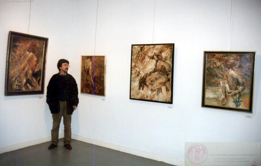 Gregor JAKUBOWSKI, Centre de la Visitation, PERIGUEUX, 1997