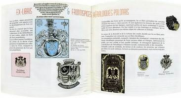 POLISH HERALDIC EX-LIBRIS AND FRONTISPIECES, Bibliotheque Municipale, PERIGUEUX, 1997