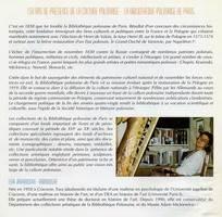 POLISH HERALDIC EX-LIBRIS AND FRONTISPIECES, Bibliotheque Municipale, PERIGUEUX, 1997