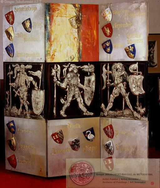 the Nine Worthies - Manoir de Launay