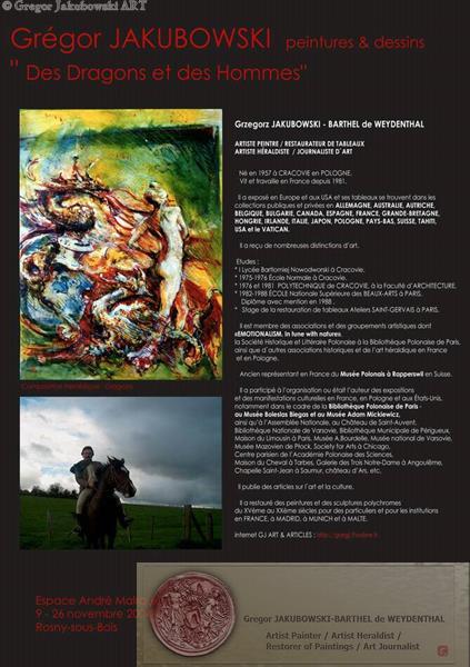 Gregor Jakubowski Des dragons et des hommes , 2004