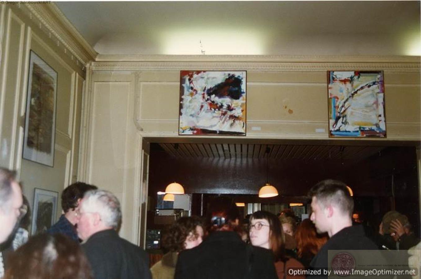 EXPOSITION des PEINTRES et SCULPTEURS POLONAIS�; Center of Polish Veterans SPK, PARIS, 1996