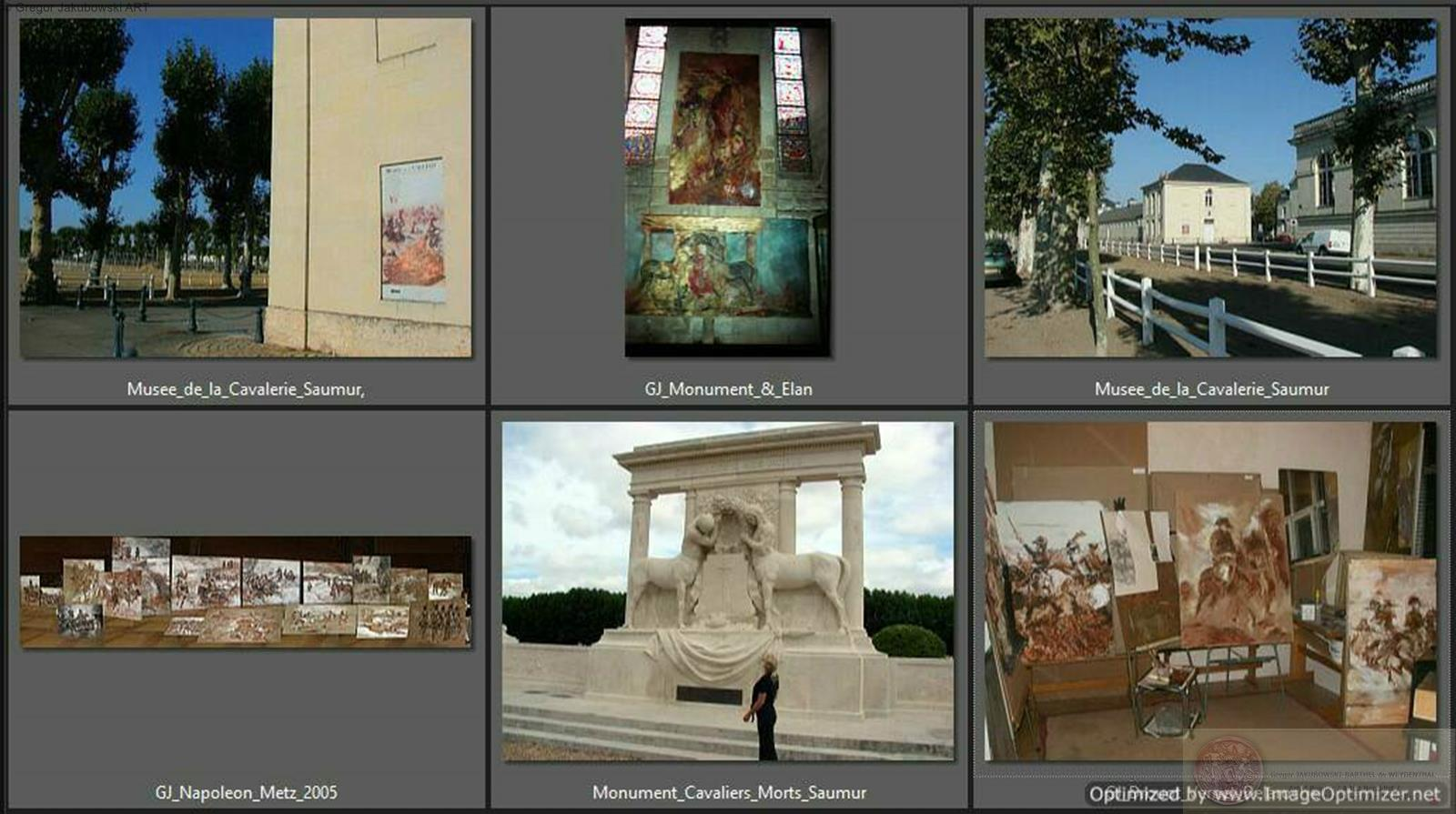 Gregor Jakubowski - paintings and installations, Musee de CAVALERIE, SAUMUR, Scheduled for Autumn 2013