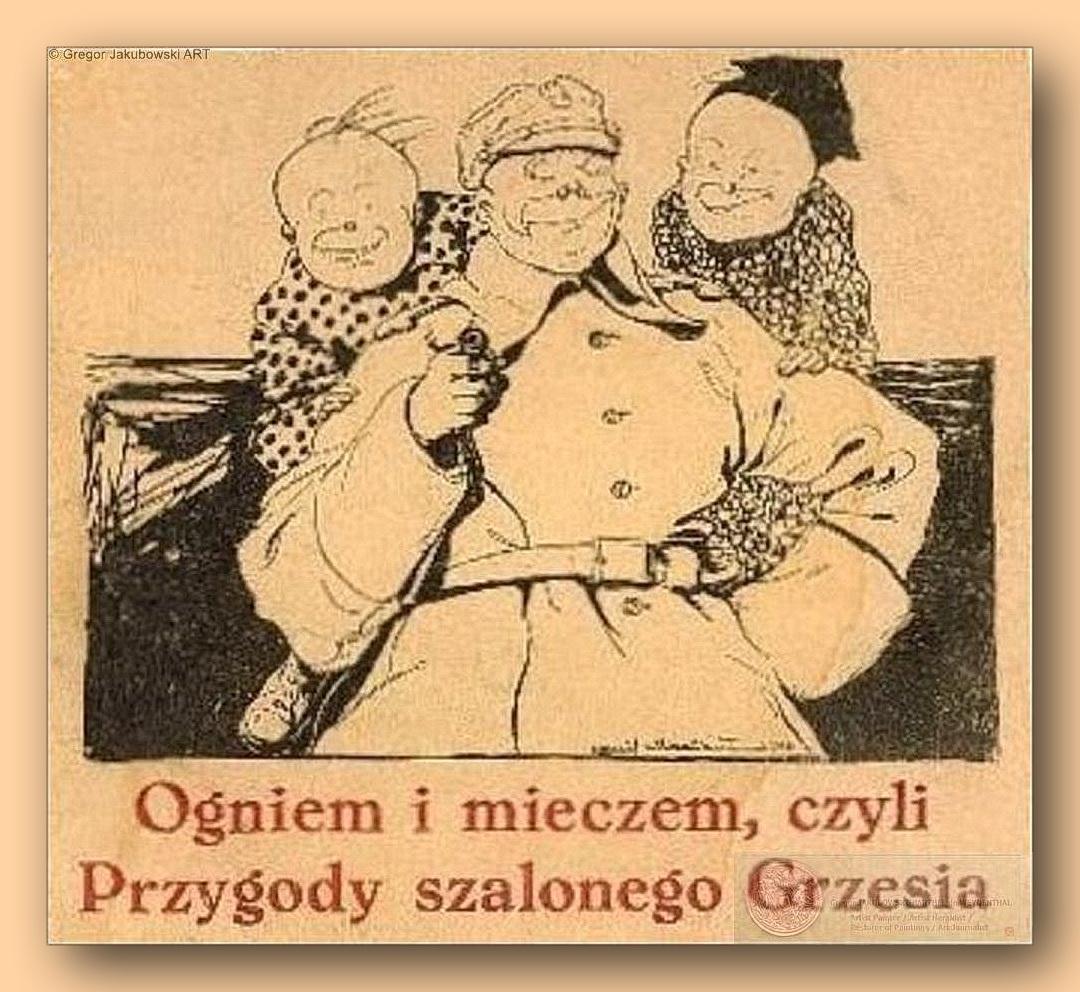 Przygody Szalonego Grzesia, 1919