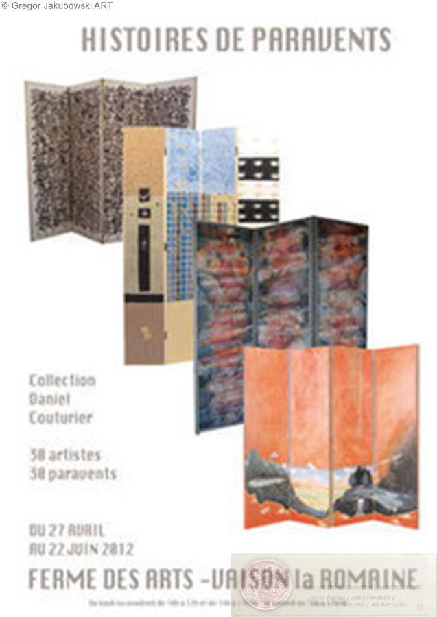 Histoire de paravents. Ma collection id�ale, Collection Daniel Couturier, Ferme des Arts, Vaison la Romaine, du 27.04 au 22.06.2012