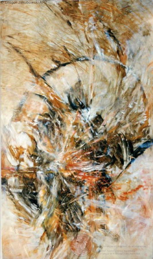 Visions 150x90 cm, oil