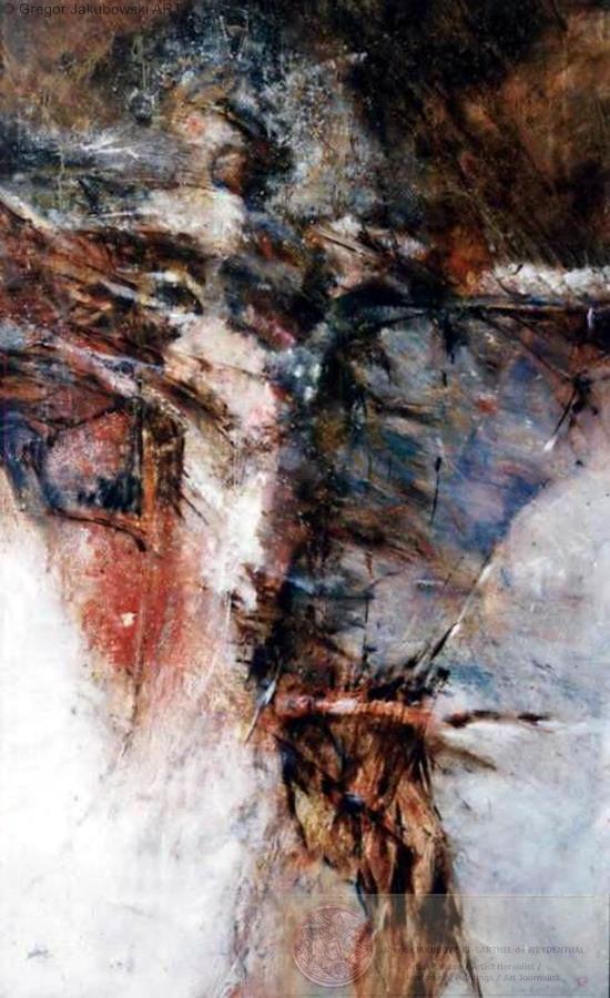 VISIONS, oil 150x90 cm