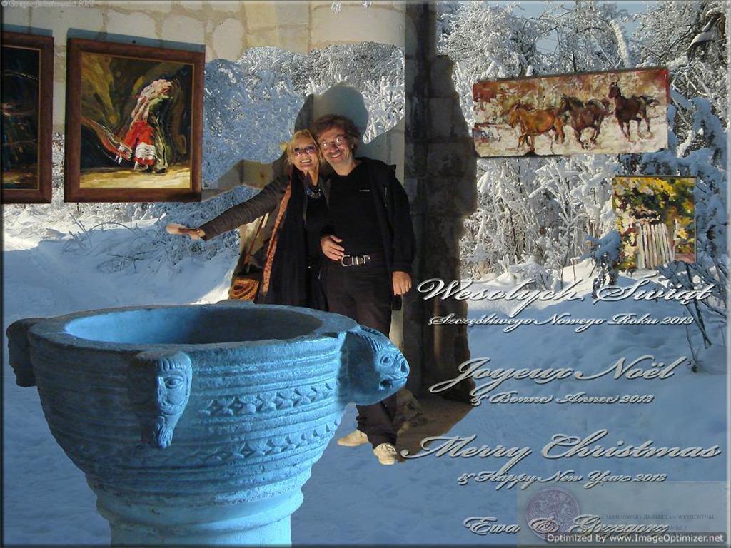 Ewa Maslowska & Grzegorz Jakubowski. Christmas & New Year Greetings 2012/2013