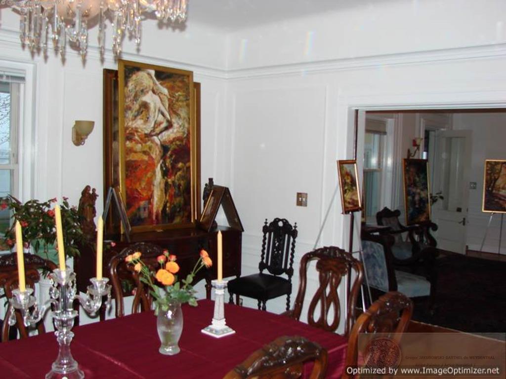 YIN & YANG, Ewa MASLOWSKA & Gregor JAKUBOWSKI, oil paintings PolishManor, Fairhaven,Mass, 15_XI_2009