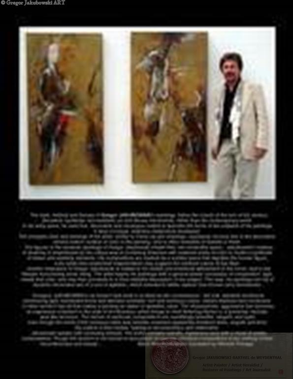 PAINTINGS by Gregor Jakubowski - download the pdf files)