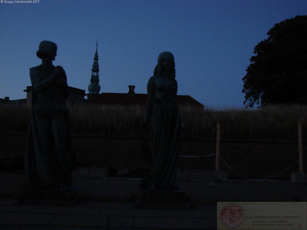 Ewa Maslowska & Gregor Jakubowski, YIN & YANG - Together HAMLET's CASTLE, HELSINGOER
