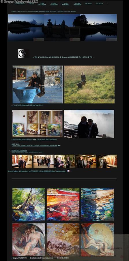 YIN & YANG website
