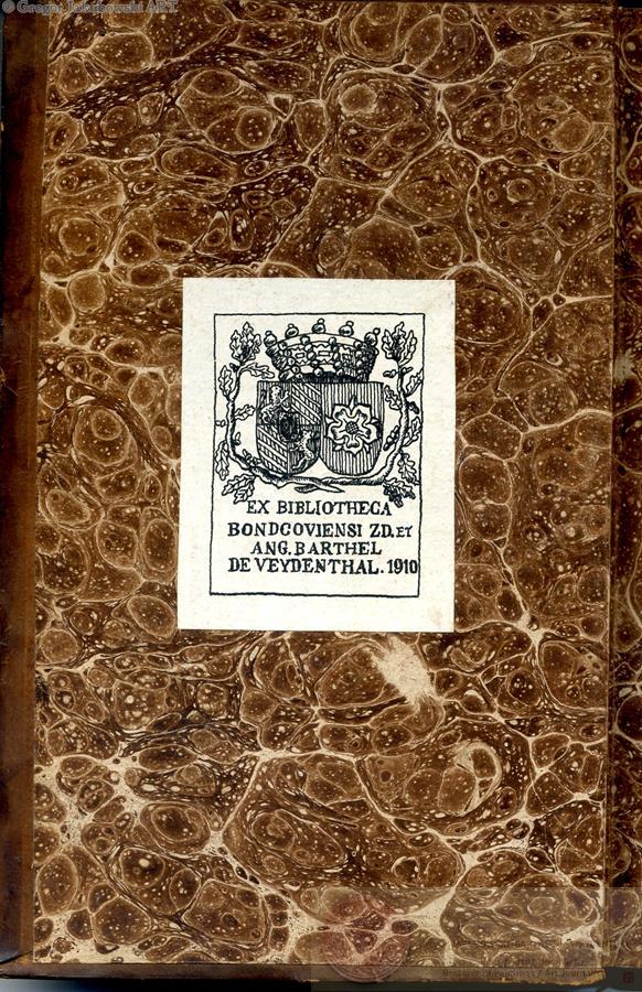 ex-libris BdeW