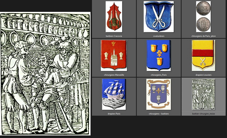 _ArtBlason_GJ.ARTp.120-121_37_Chirurgiens-barbiers,couturieres_drapiers