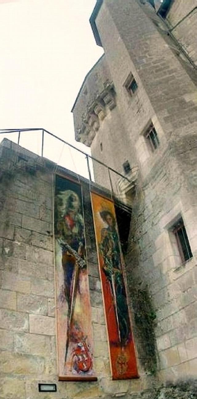 Gregor Jakubowski, Les Neuf Preux (The Nine Worthies), Langeais Chateau, France, 2003