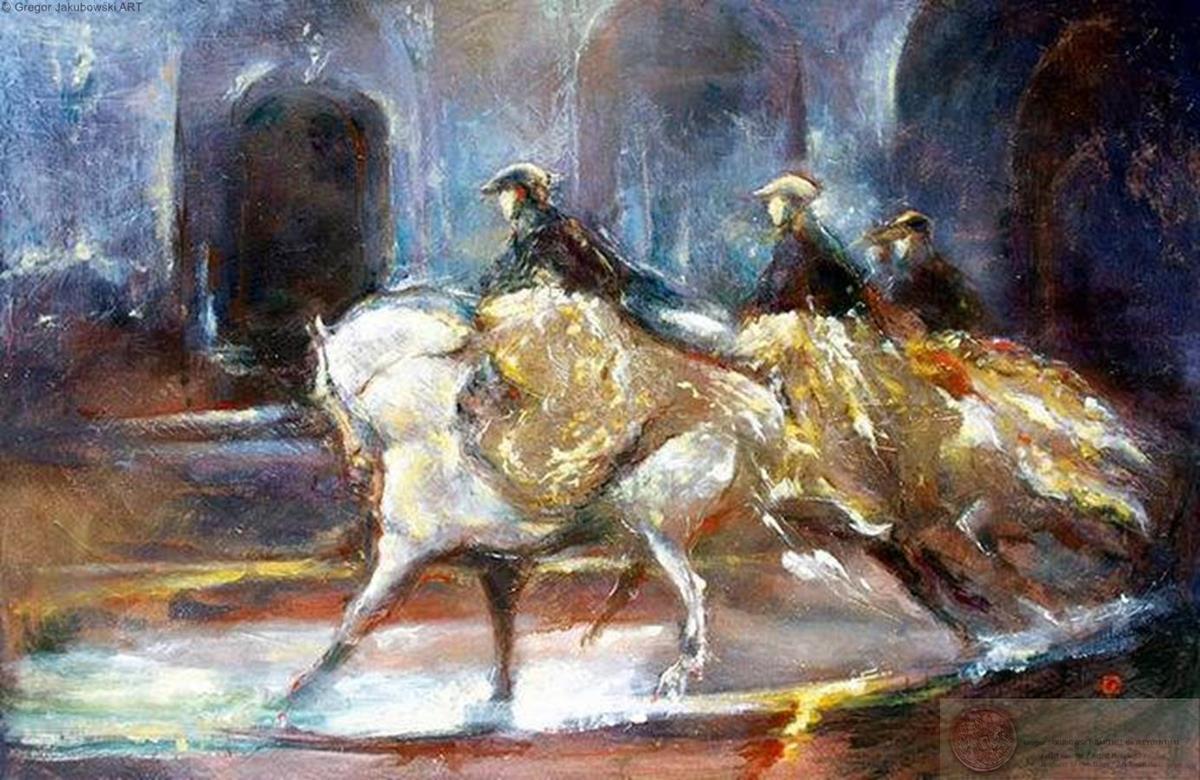 MASQUES . Musee Vivant du Cheval 2001
