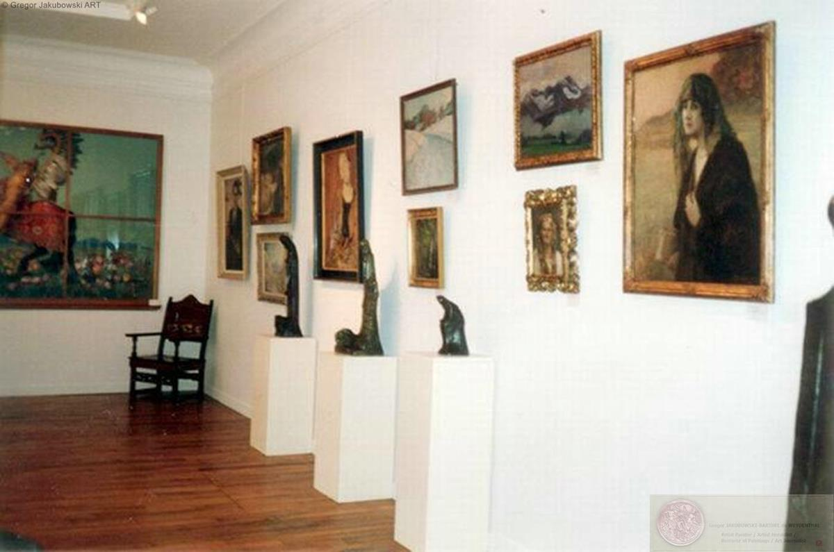 MUSEUM EXHIBITIONS : Olga Boznanska in the Adam Mickiewicz Museum in 1990 and the Boleslas Biegas Museum in 1994, both in the Biblioteka Polska in Paris