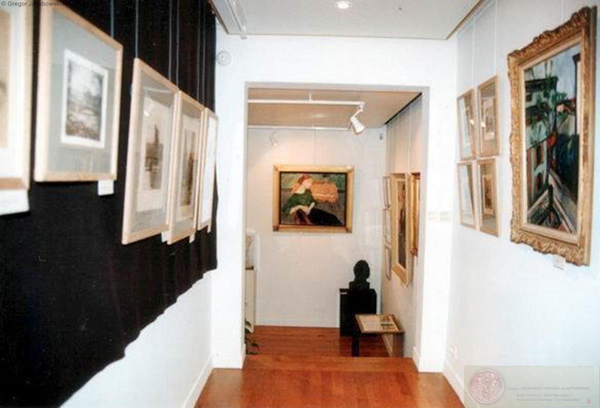 Temps de Paix - Temps de guerre. Les artistes polonais a Paris 1900 - 1918 Bibliotheque Polonaise de Paris (Biblioteka Polska w Paryzu), 1996-1997 exposition avec catalogue