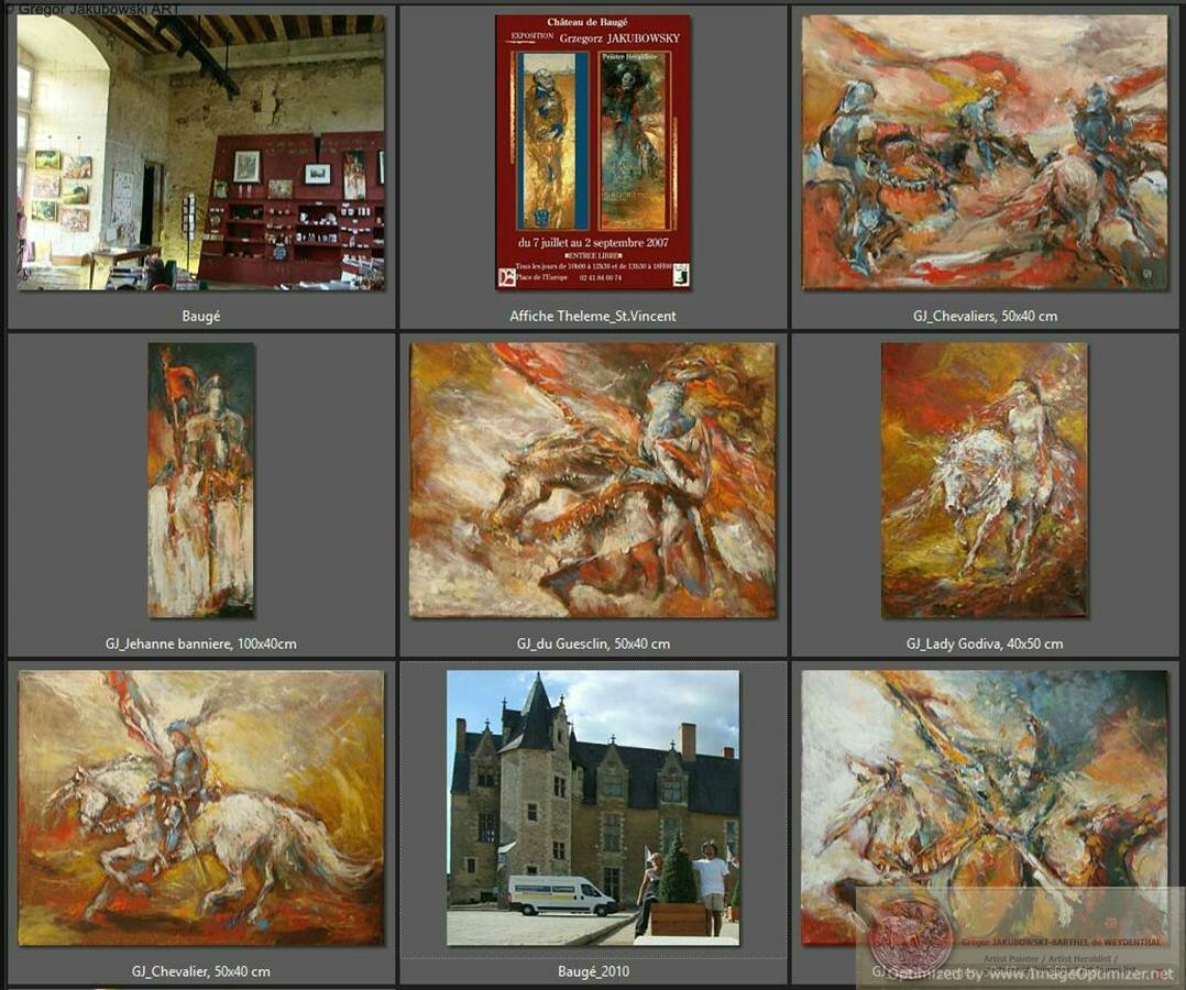 Gregor Jakubowski - Chateau et Apothicairerie de Bauge-en-Anjou