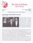 The Life of Polonia Zycie Polonii,Boston, X-XII 2000