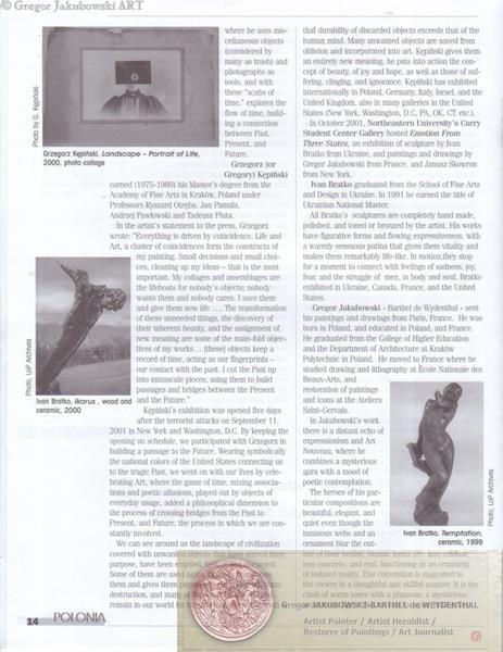 The Life of Polonia - Zycie Polonii, Boston, I-VI, 2002