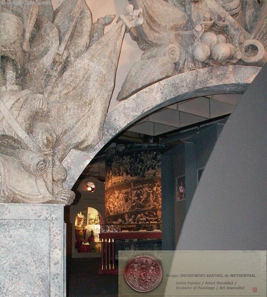 entrance expo NAPOLEON d'Ombre et de Lumiere, FIM, Metz, 2005