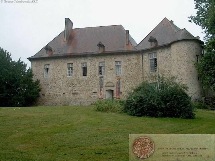 chateau de Saint-Auvent