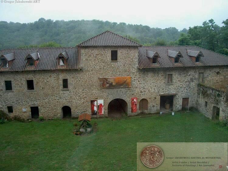 chateau de Saint-Auvent GJ