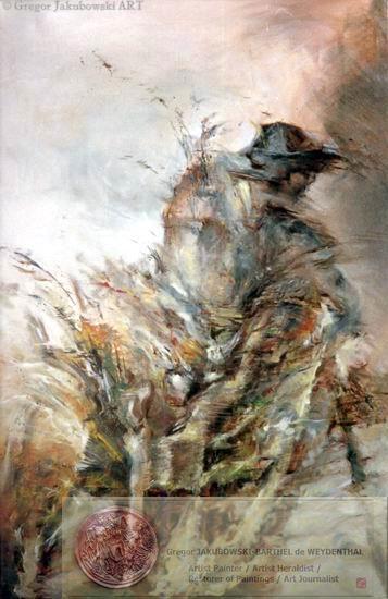 VOYAGEUR, oil, 146 x 94 cm (35 x 27)