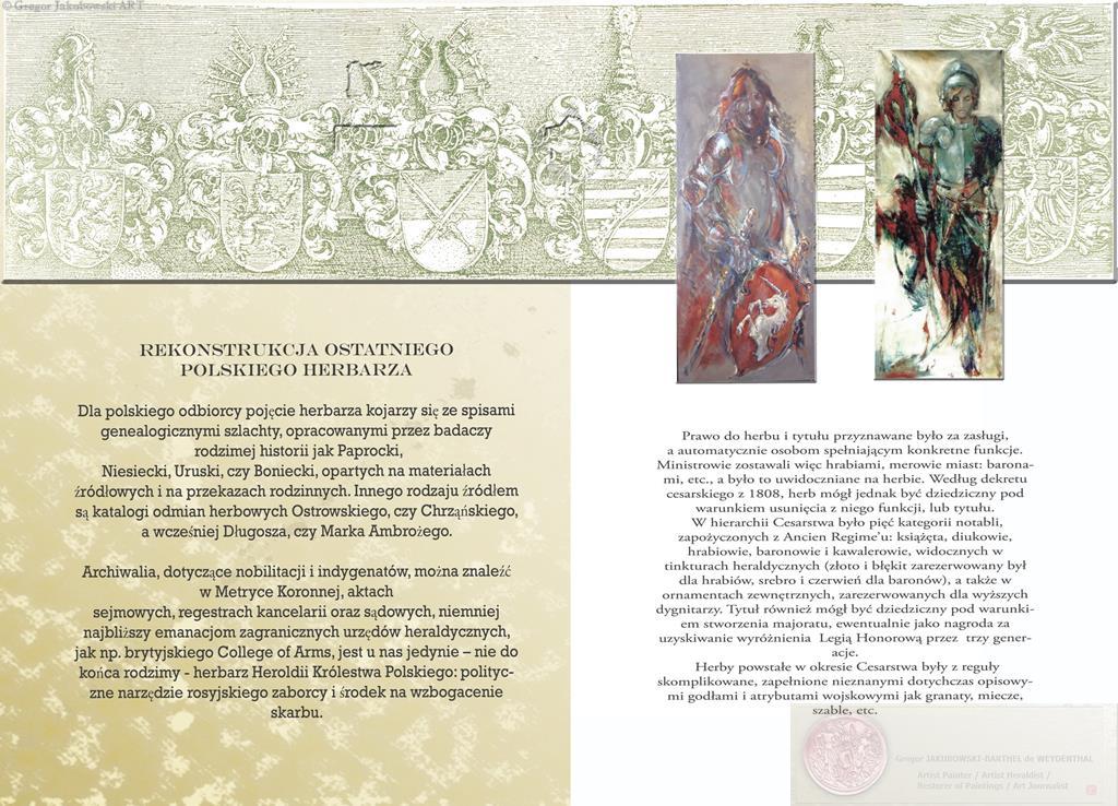 HERBY. Jezyk Znakow, Jezyk Obrazow - Grzegorz Jakubowski