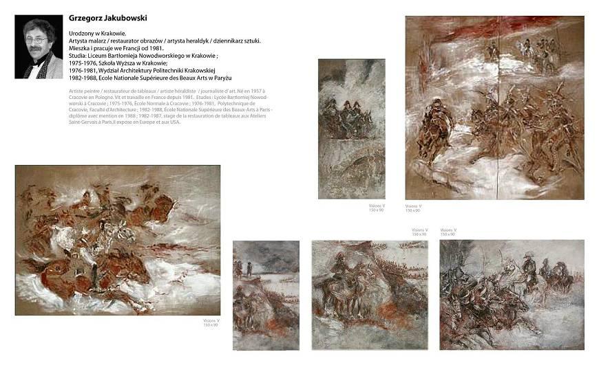 Gregor Jakubowski, Napoleon paintings