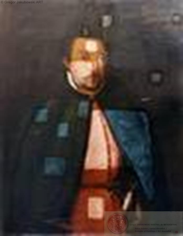 portrait Stefan Zolkiewski, Painting restored by G.J.